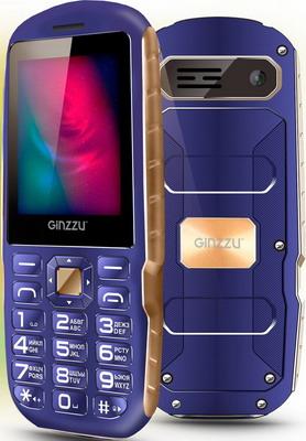 Мобильный телефон Ginzzu R1D синий мобильный телефон ginzzu rs 81 d
