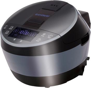 Мультиварка Endever Vita 100 черно-стальной скороварка мультиварка электрическая endever vita 98 черно сливовый
