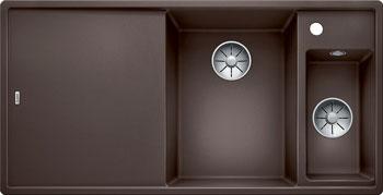 Кухонная мойка BLANCO AXIA III 6 S кофе чаша справа доска стекло c кл.-авт. InFino 523482 часть ями yami 6 мока кофе фильтровальной бумаги 4 6 человек
