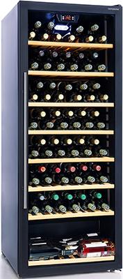 все цены на Винный шкаф Cavanova CV 100 T черный онлайн