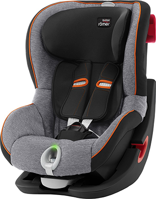 Автокресло Britax Roemer King II LS Black Series Black Marble Highline автокресло britax romer king ii ls black series football edition highline