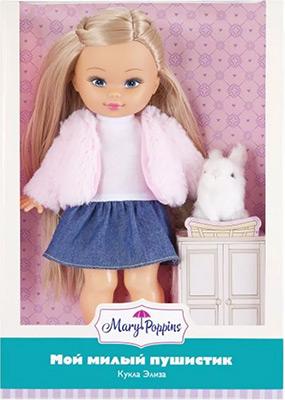 Кукла Mary Poppins Элиза Мой милый пушистик зайка. 451237 mary poppins mary poppins кукла мой милый пушистик элиза енот