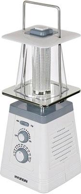Радиоприемник Hyundai H-RLC 150 белый/серый