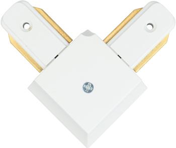 Трек-коннектор DeMarkt CON 2L WT 1*10 W LED 220 V