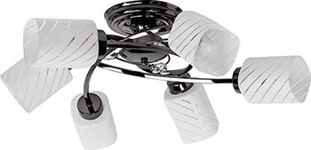 купить Люстра потолочная DeMarkt Олимпия 638011106 по цене 12180 рублей