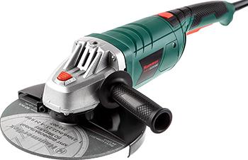 Угловая шлифовальная машина (болгарка) Hammer Flex USM 2400 D перчатки hammer flex 230 019 хб с пвх покрытием 5 нитей черные 5 пар