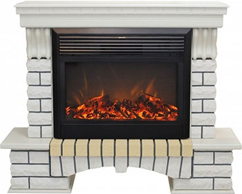 Каминокомплект Realflame Country 26 WT с MoonBlaze S LUX Black