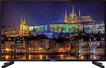 LED телевизор Erisson 50 FLE 17 T2 черный цена и фото