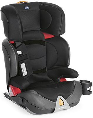 Автокресло Chicco Oasys 2-3 Evo FixPlus Jet Black