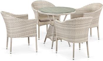 Комплект мебели Афина T 705 ANT/Y 350-W 85 4Pcs Latte