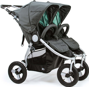 Коляска Bumbleride Indie Twin Dawn Grey Mint IT-975 DGM цена