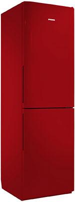 Двухкамерный холодильник Позис RK FNF-172 рубиновый ручки вертикальные