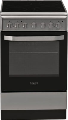 Электроплита Hotpoint-Ariston HS5V5PMX/RU газовая плита hotpoint ariston hs5g1pmw ru