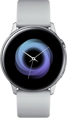 Часы Samsung Galaxy Watch active SM-R 500 N серый умные часы samsung galaxy watch 46 mm silver sm r800n