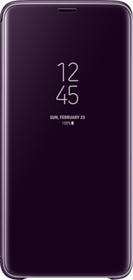 Чехол (флип-кейс) Samsung S9+ (G 965) ClearView Standing viole EF-ZG 965 CVEGRU чехол samsung clearview для galaxy a5 2017 a520 ef za520cfegru gold