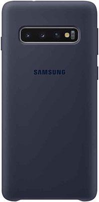 Чехол (клип-кейс) Samsung S 10 (G 973) SiliconeCover navy EF-PG 973 TNEGRU