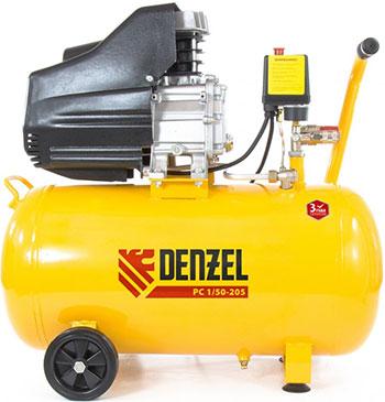 Компрессор Denzel PC 1/50-205 58066 компрессор масляный denzel pc 1 24 205