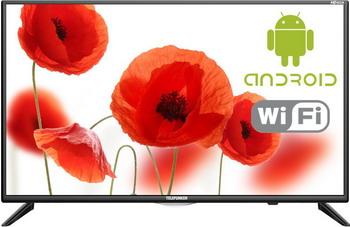 LED телевизор Telefunken TF-LED 32 S 93 T2S черный цена и фото