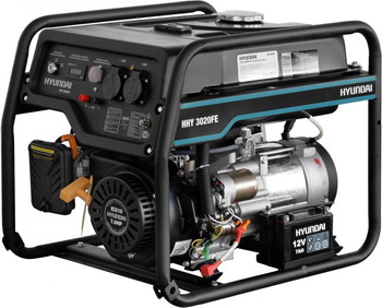 Электрический генератор и электростанция Hyundai HHY 3020FE l oreal paris смываемый красящий бальзам для волос волосы фламинго colorista