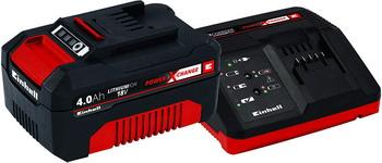 Аккумулятор + зарядное устройство Einhell PXC 18В 4 Ач 4512042 аккумулятор bosch pba 18в 2 5 ач w b
