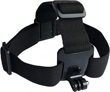 Держатель для экшн-камер Buro Head mount пластик/эластичная ткань цена и фото