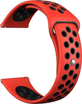 Ремешок для часов Lyambda универсальный для часов 20 mm ALIOTH DS-GS-03-20-RD Red/Black dwt ds 250 gs