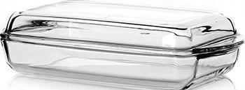 Форма для запекания с крышкой Pasabahce Borcam Casseroles with Cover 2 л форма для свч pasabahce borcam для кекса 59884 1 12 л