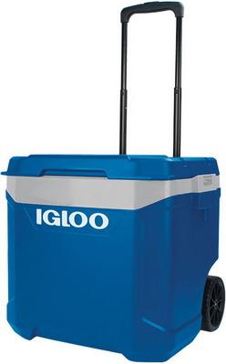 Изотермический контейнер с телескопической ручкой Igloo