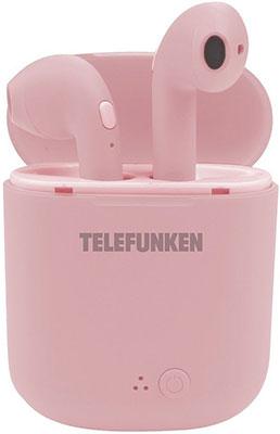 Вставные наушники Telefunken TF-1000B (розовый)