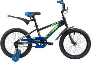 Велосипед Novatrack 18'' LUMEN алюм. черный 185ALUMEN.BK9