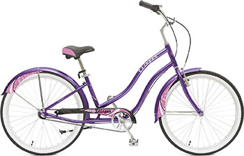Велосипед Stinger 26'' Cruiser NEXUS M 16 5'' фиолетовый 26AHC.CRUISNEXL.16VT8 велосипед electra cruiser betty 3i ladies' 2016