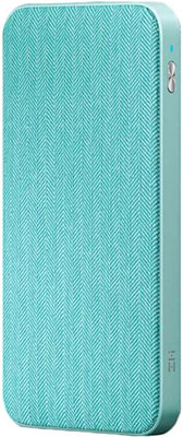 Внешний аккумулятор Xiaomi Power Bank ZMI QB910 10000mAh голубой внешний аккумулятор samsung kettle design 5100мaч мятно голубой [eb pa510blrgru]