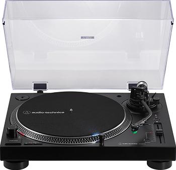 Проигрыватель виниловых дисков Audio-Technica AT-LP120XBTBK черный
