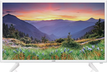 Фото - LED телевизор BBK 32LEM-1090/T2C белый телевизор led 32 bbk 32lem 1071 ts2c черный 1366x768 50 гц s pdif