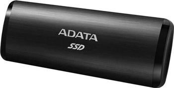 Внешний SSD жесткий диск A-DATA ASE760-1TU32G2-CBK BLACK USB-C 1TB EXT.