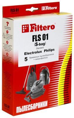 Набор пылесборники + фильтры Filtero FLS 01 (S-bag) (5) Standard filtero lge 03 5 standard пылесборники