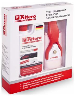 Набор для ухода за стеклокерамикой Filtero Арт. 204