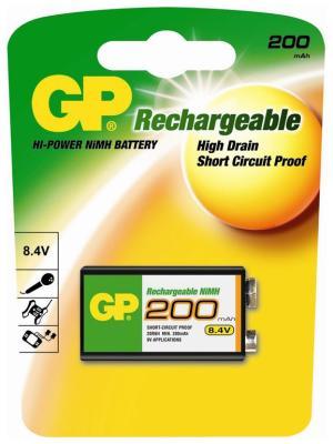 Аккумулятор GP 200 mAh (крона)