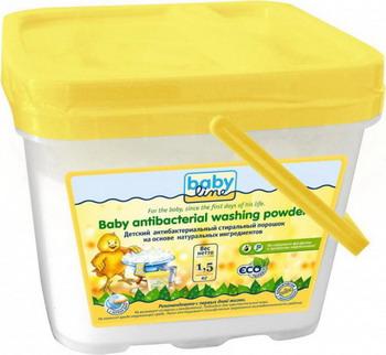 Средство для стирки детское Babyline, на основе натуральных ингредиентов 1 5 кг, Израиль  - купить со скидкой