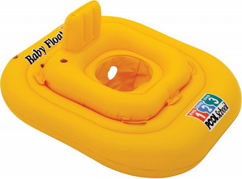 Надувной круг Intex Baby Float с трусами 79см 0 5-1лет 56587