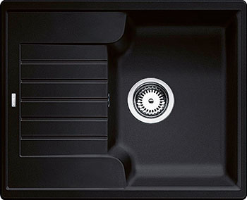 Кухонная мойка BLANCO ZIA 40 S SILGRANIT антрацит blanco zia 45 s silgranit антрацит