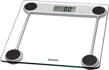 Весы напольные Bomann PW 1417 CB Glas весы напольные clatronic pw 3368 glas lcd