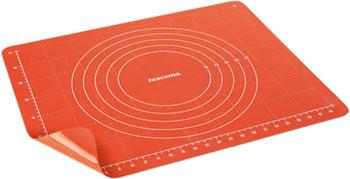 Поверхность для раскатки теста Tescoma с зажимом DELICIA SiliconPRIME 60 x 50 см 629449 лист силиконовый для раскатки теста dosh home gemini 40 x 50 см