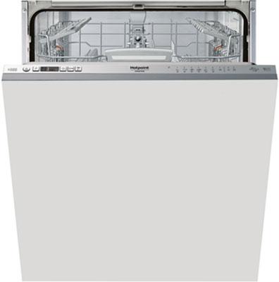 лучшая цена Полновстраиваемая посудомоечная машина Hotpoint-Ariston HIO 3T 123 WFT