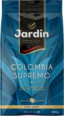 купить Кофе зерновой Jardin Colombia Supremo 1кг дешево
