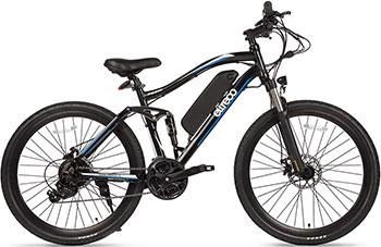 Велогибрид Eltreco FS 900 26'' blue-black 001035 велосипед eltreco vector 350w 2016
