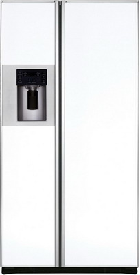 Холодильник Side by Side Iomabe ORE 24 CGFFKB GW белое стекло холодильник side by side iomabe ore 24 vghfnm черный