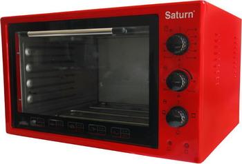 лучшая цена Электропечь SATURN ST-EC 3801 Red