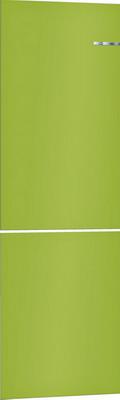 Навесная панель на двухкамерный холодильник Bosch VarioStyle KGN 39 IJ 3 AR со сменной панелью Цвет: Лайм навесная панель на двухкамерный холодильник bosch variostyle цвет жемчужно белый