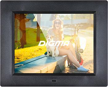 Фото - Цифровая фоторамка Digma 8'' PF-833 фоторамка digma pf 1033